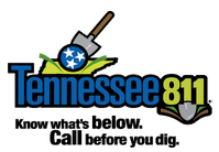 Tennessee 811 - Know what's below. Call before you dig.