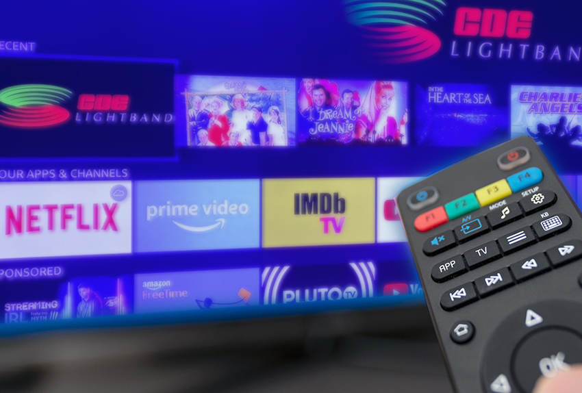 CDE Lightband provides streaming package options to fit your needs and budget